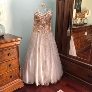 Sequenced Prom Dress